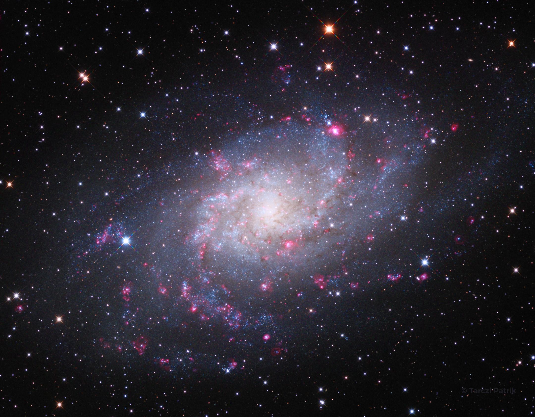A Triangulum galaxis - M 33