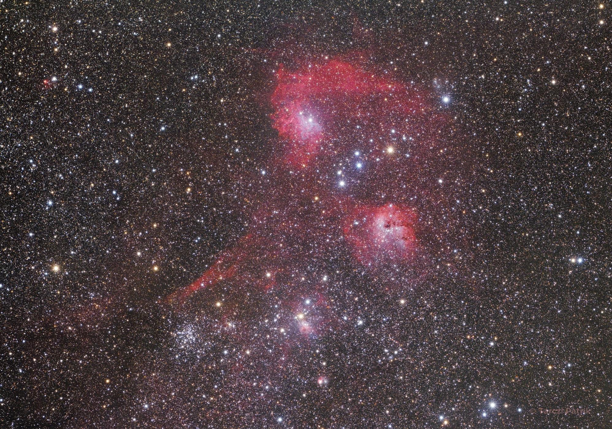 Auriga csillagkép szivében