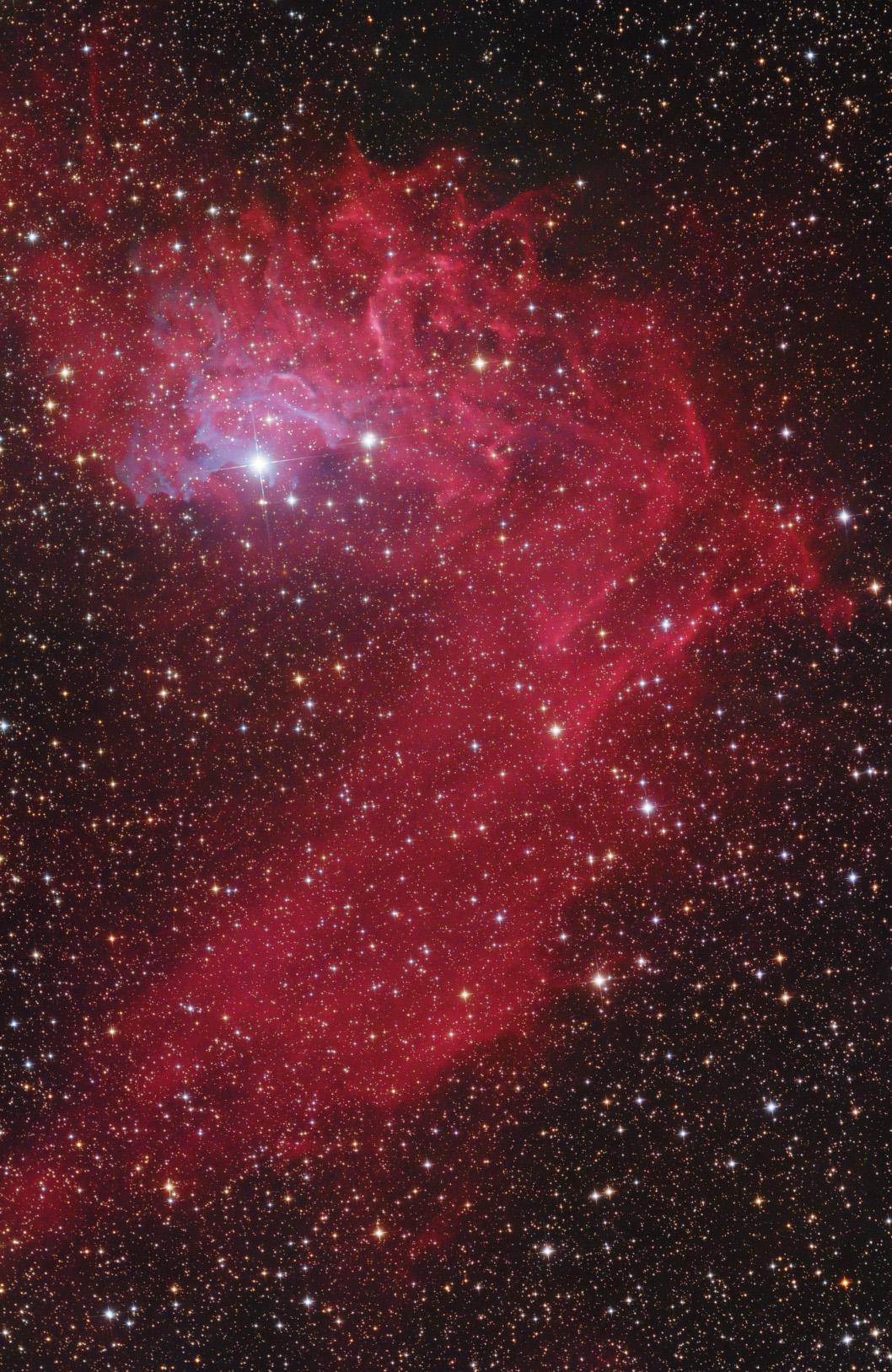 A Lángoló csillag-köd