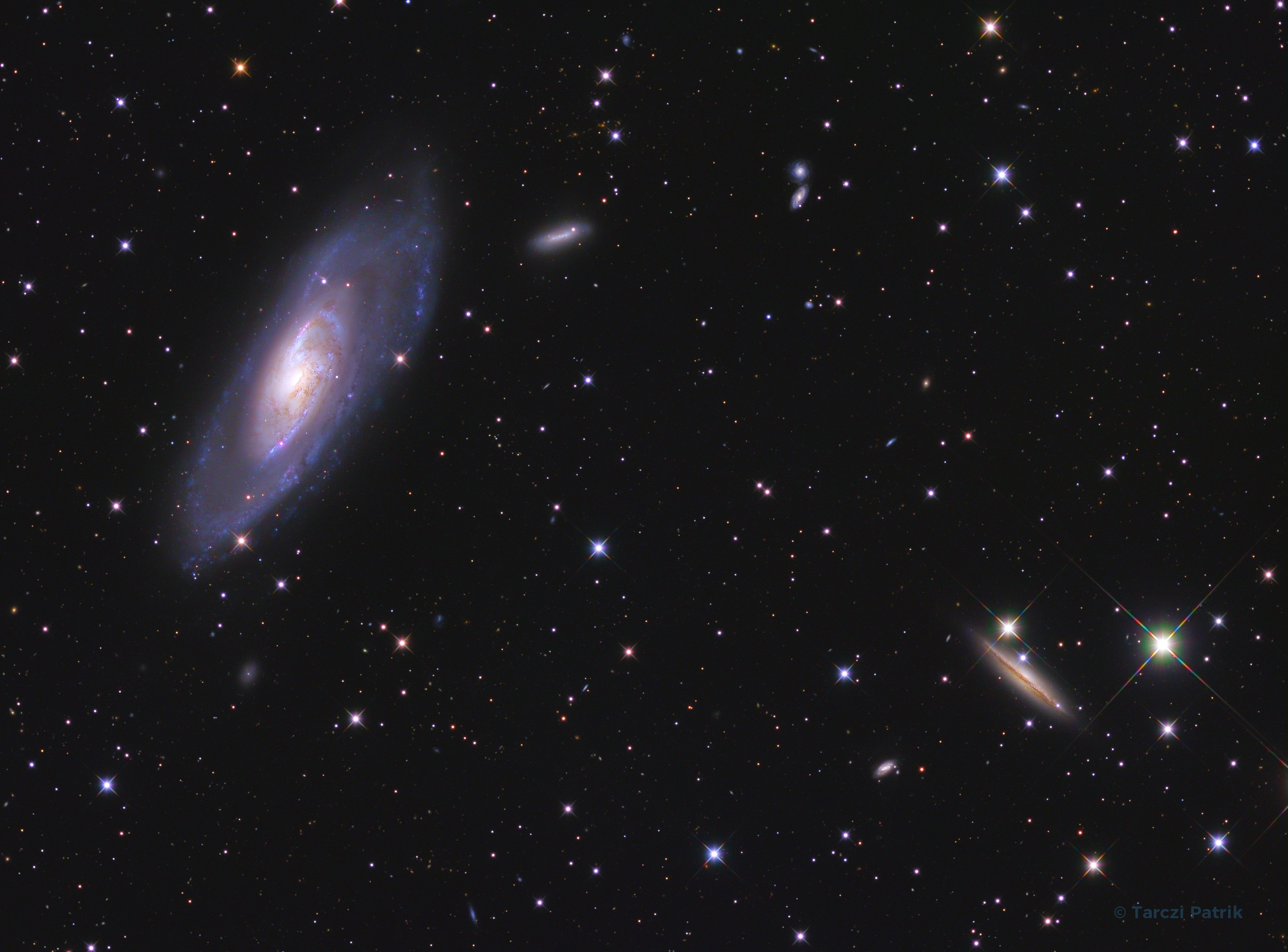 M106 and it's neighborhood
