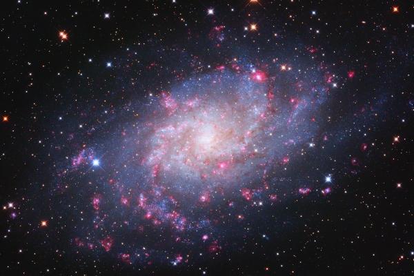 A Triangulum galaxis