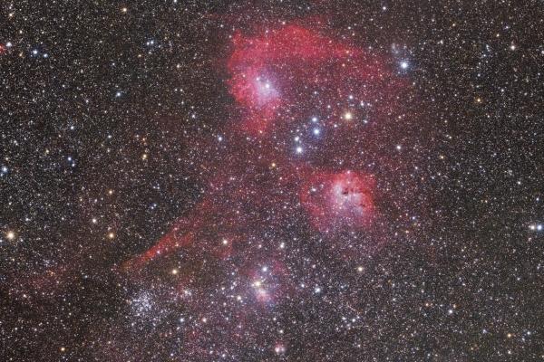 Az Auriga csillagkép szivében