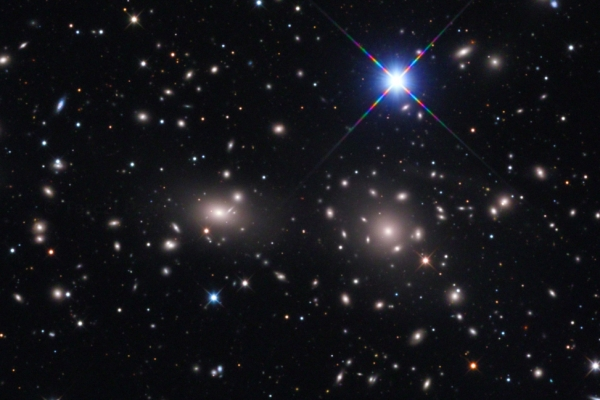 Coma Cluster of Galaxies